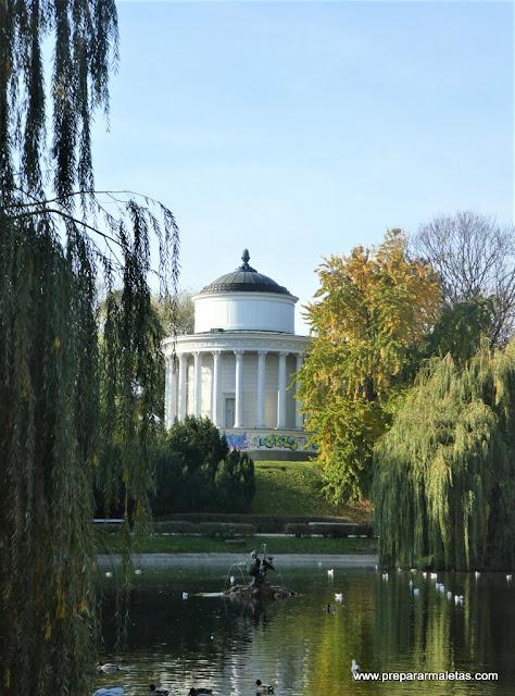 Jardín Sajón en Varsovia