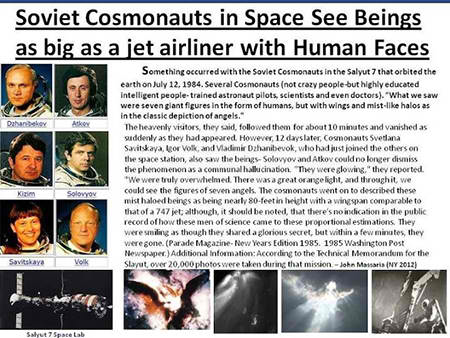 Mindblowing Cases of Astronauts Who Saw Angels In Space