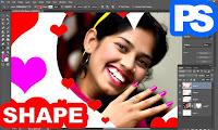 shape in adobe photoshop