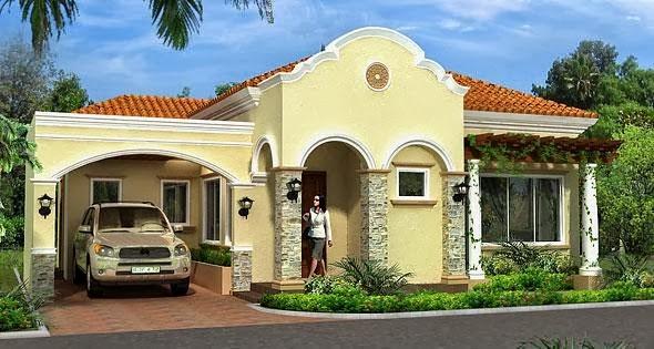 model rumah italia 1
