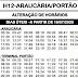 Horário de ônibus H12 ARAUCÁRIA / PORTÃO 2021 | Araucária PR