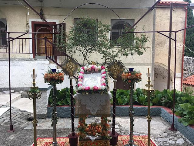 Ιερά Μόνη της Κοιμήσεως της Θεοτόκου Αγία Μαρίνα Κάτω Τιθορέα Φθιώτιδας