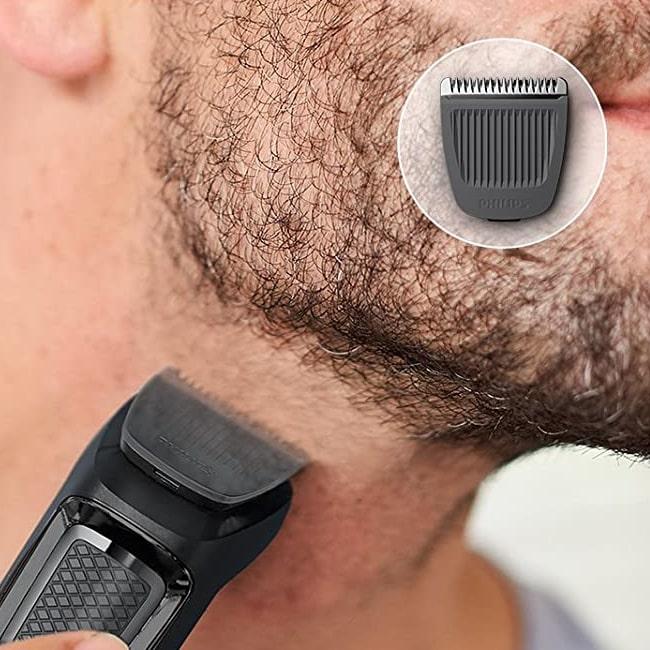 0mm beard cut using Phillips 3000 series trimmer.