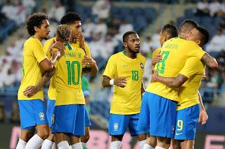 التشكيل المتوقع لمباراة البرازيل ضد قطر بدون تقطيع