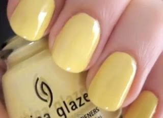 Bumble Bee nails - Nail Art Tutorial. Study at home
