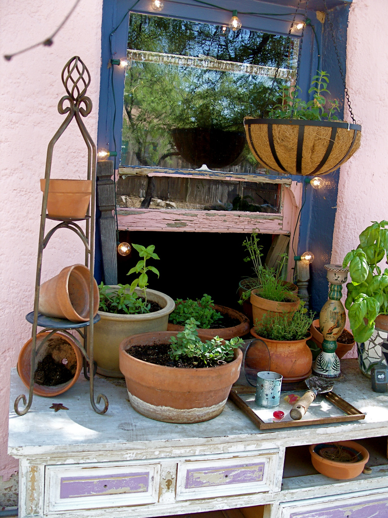 Herb Gardens 30 great Herb Garden Ideas - The Cottage Market on Outdoor Patio Design Ideas id=54009