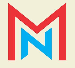 MN Letter logo vector