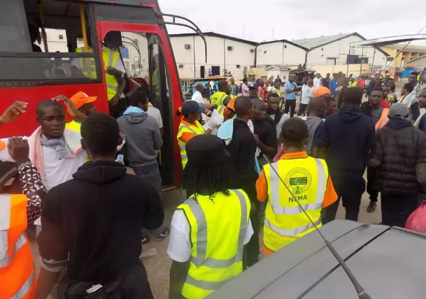 161 nigerians deported from tripoli libya