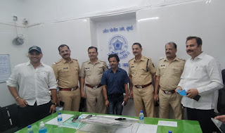 भाजपा प्रवक्ता उदय प्रताप सिंह ने पुलिस अधिकारियों का माना आभार | #NayaSaberaNetwork