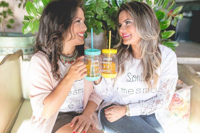Aline e Heloisa Fundadoras do Mamãe Sortuda
