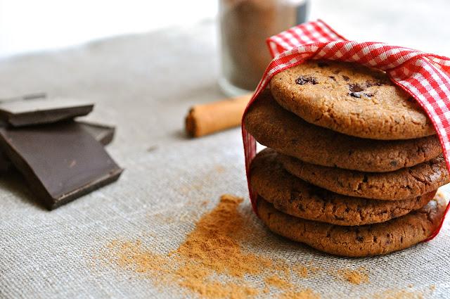 nemme småkager med chokolade