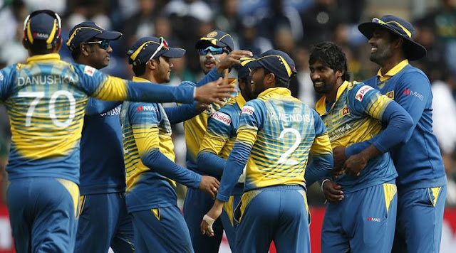 WC 2019 Sri Lanka Team Squad