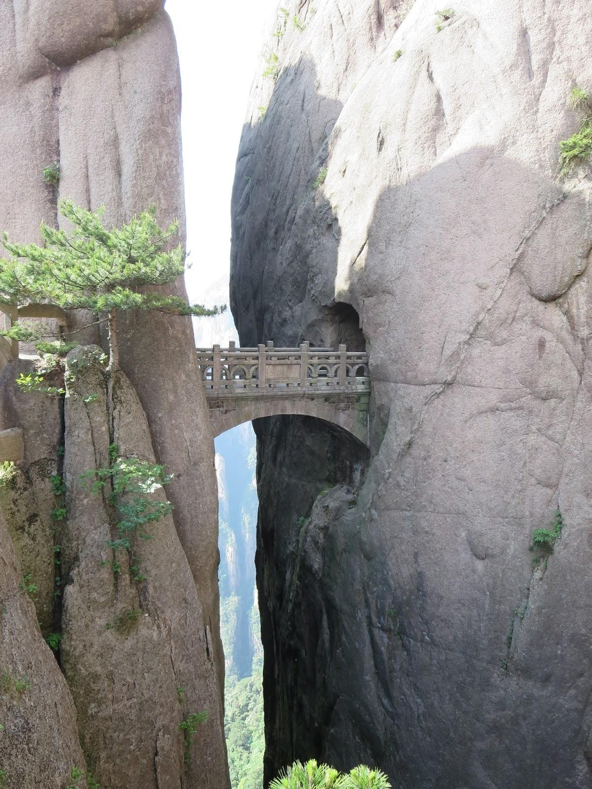 Pix Grove The Bridge Of Immortals Huangshan China
