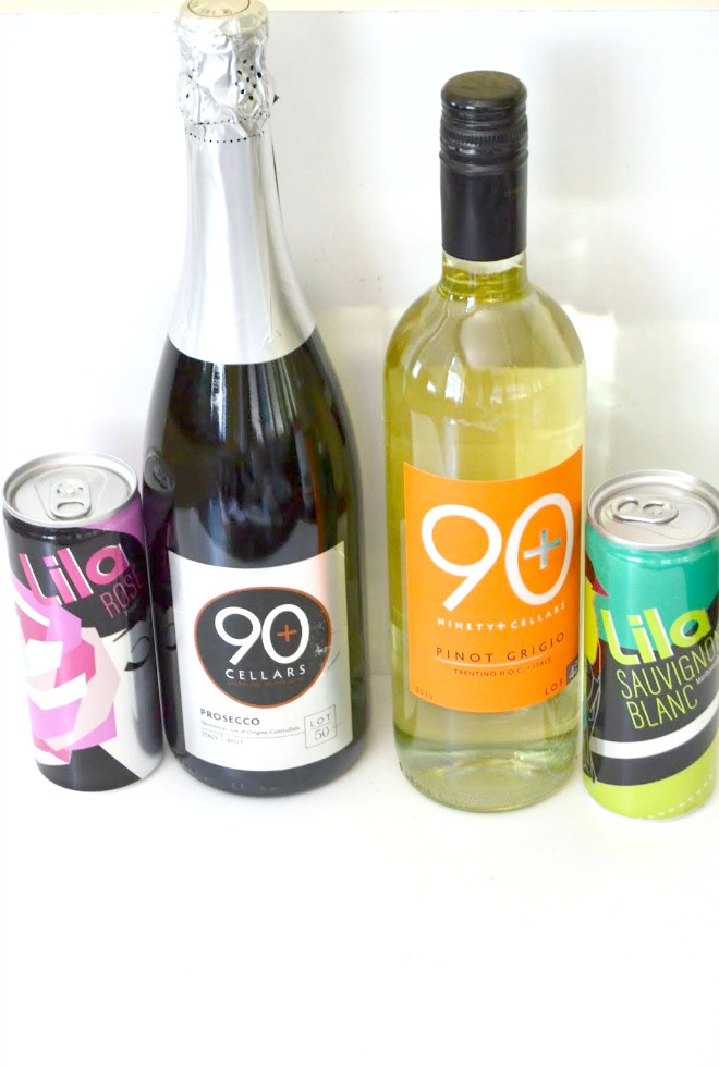 Lila Wines and 90+ Cellars Wines