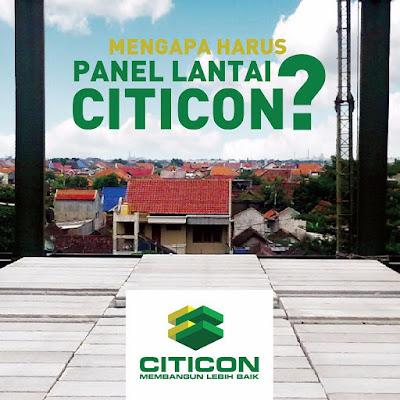 Harga Material panel lantai dan Paket terima jadi Cor dag Panel lantai Citicon terpasang