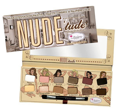 Review: The Balm Mary-Lou Manizer Highlighter and NUDE'tude Nude eyeshadow palette