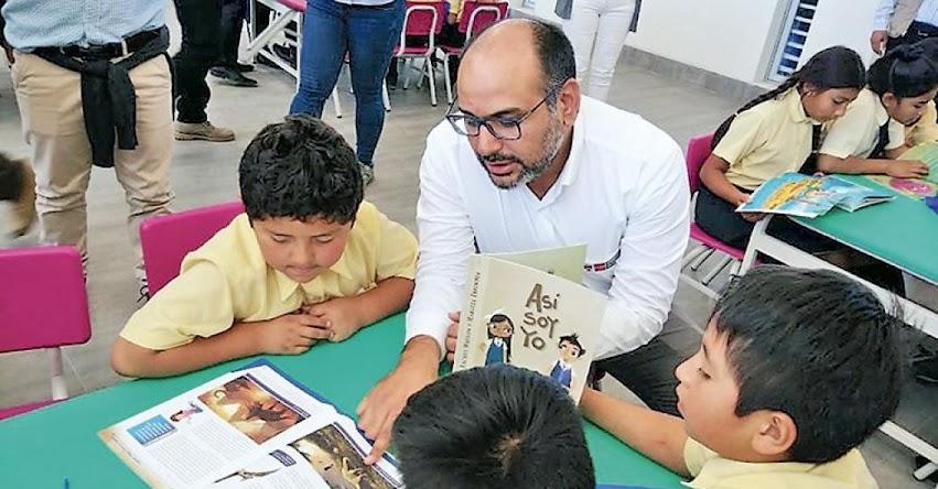 Escolares de Ica estudian en modernas instalaciones