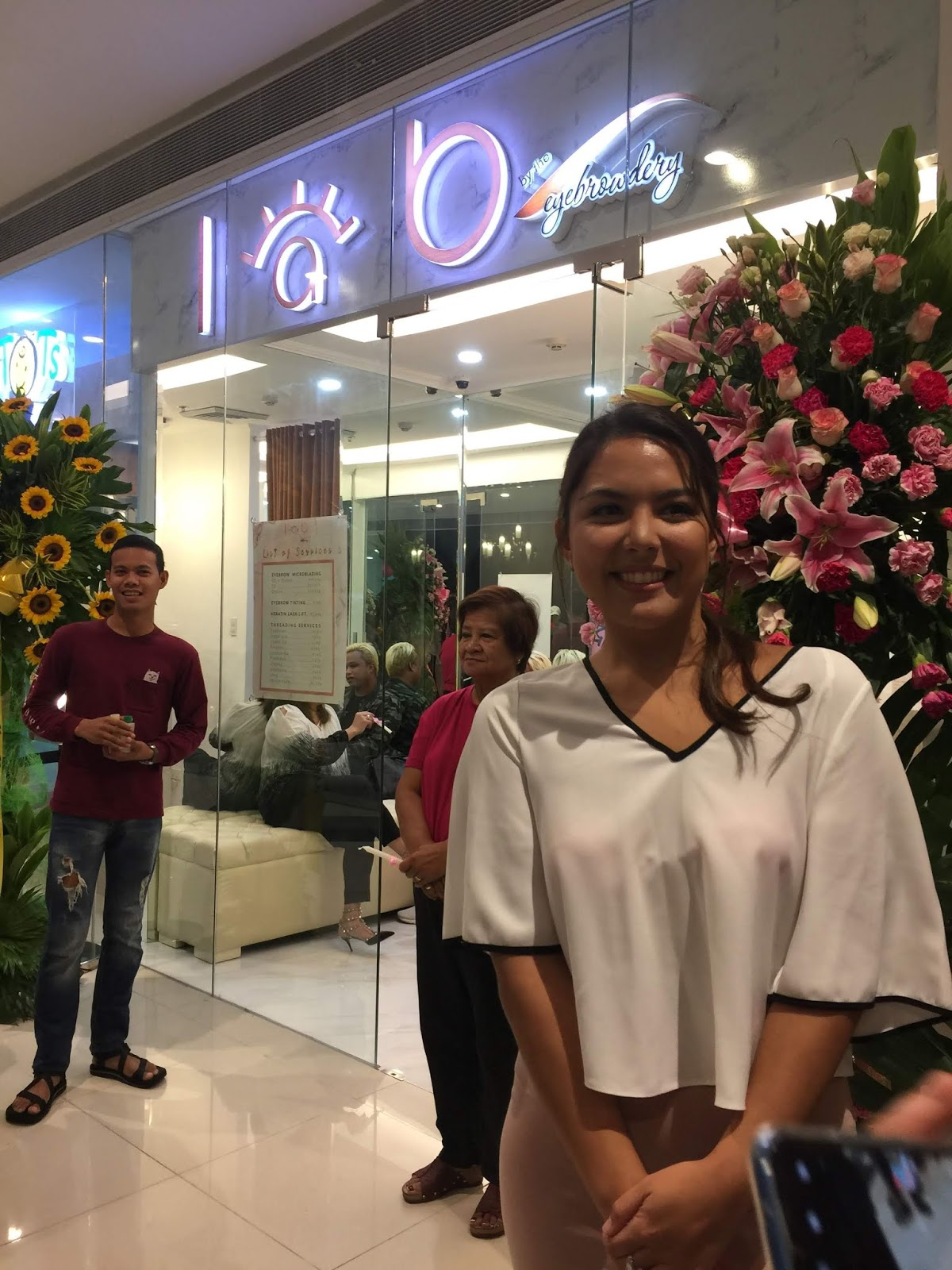 Ria Atayde and Joseph Marco Opens LAB by Eyebrowery!