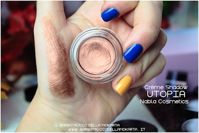 utopia review POTION PARADISE OMBRETTI CREMA NABLA CREME SHADOW