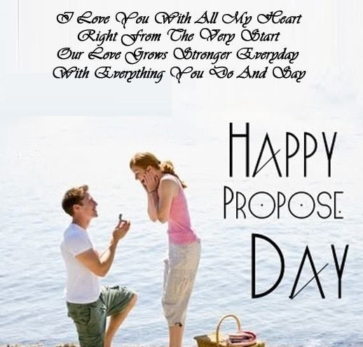 propose day to my wife