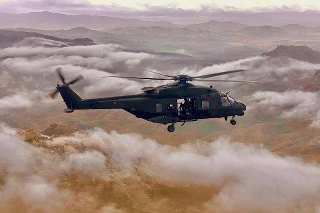 Italian Army NH90 helicopters achieve 5,000 flight hours in Afghanistan