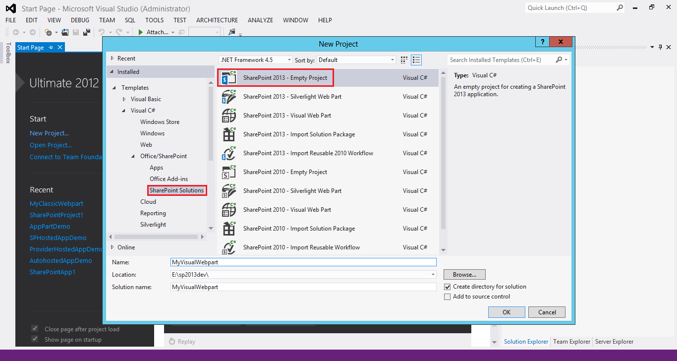 Neal Mukundan: SharePoint 2013 - Creating a Visual Webpart
