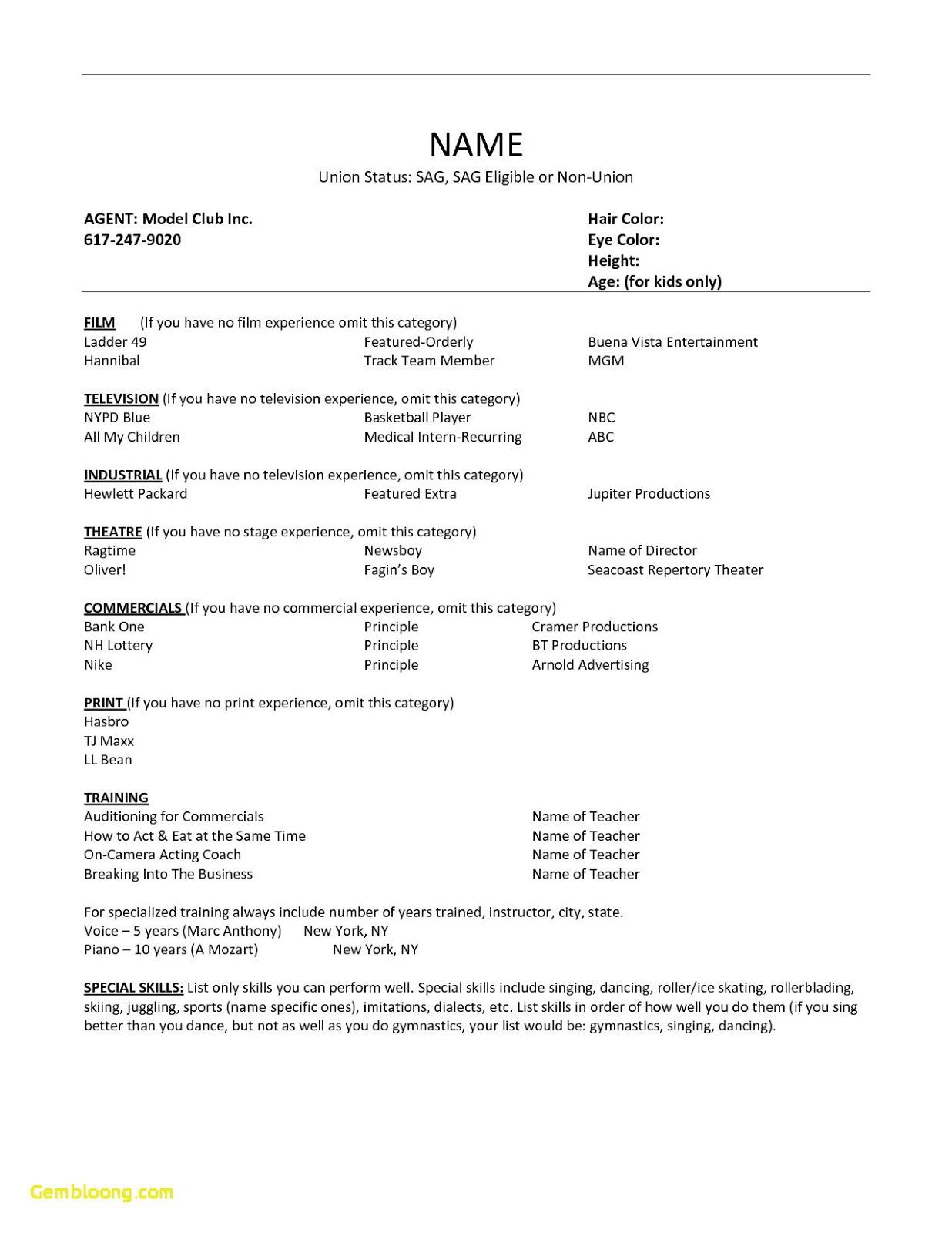 kids acting resume children's acting resume no experience 2019 children's acting resume children's acting resume template youth acting resume sample 2020 youth acting resume template youth acting resume