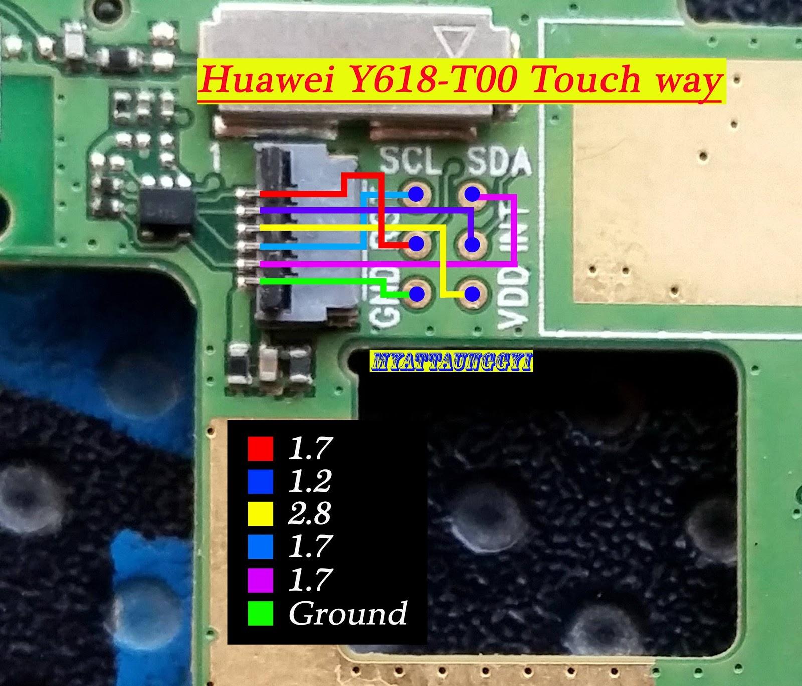 Huawei Y618 T00 Jumper Way G730 Circuit Diagram