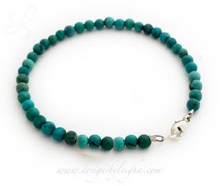 Gemstone In Memory, Survivor, Courage or Hope Bracelet - CBB-R60.htm
