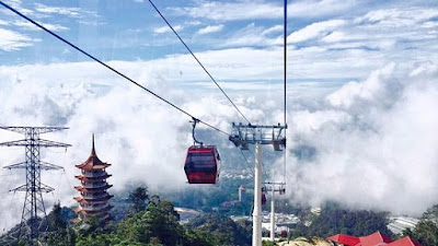 Harga Tiket Awana Skyway Genting Highlands
