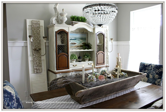 French Country-French- Farmhouse Dining Room-Decor Steals Sconces- From My Front Porch To Yours