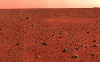 Mars iron oxide