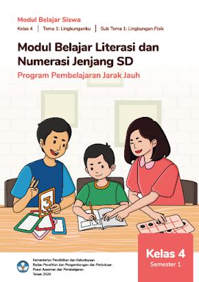 Modul Belajar Literasi Numerasi Kelas 4