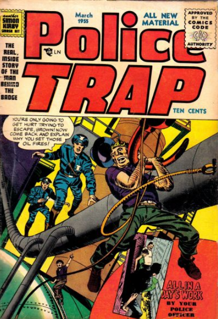 Jack Kirby Police Trap Comic
