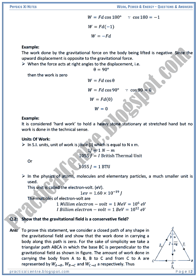 work power and energy transfer questions and answers Conservation of energy & energy transfer a very important and useful fact about energy is that it can change from one form to another when a machine does work the energy is not used up rather it is transferred – converted from one form to another.