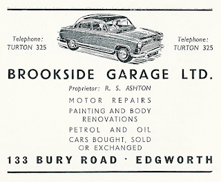 Brookside Garage Ltd, Edgworth