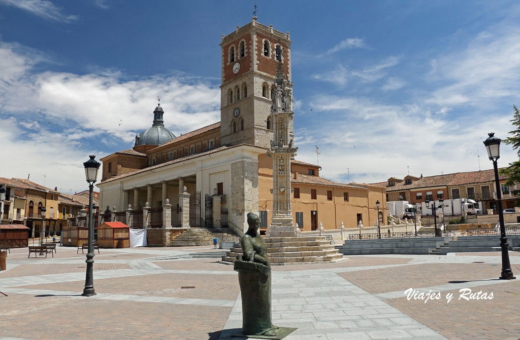 Plaza Mayor de Villalón de Campos