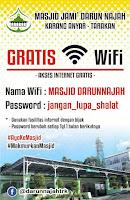 Internet Gratis Masjid Darun Najah Tarakan - Tarakan.Info