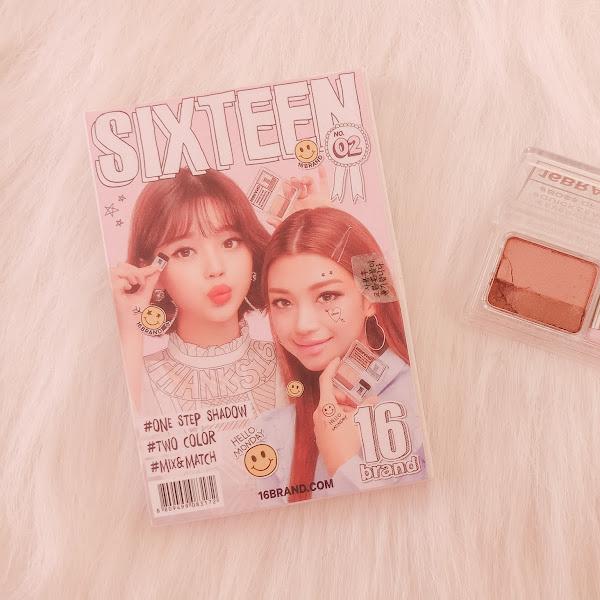 Sixteen Brand Mini Eyeshadow Magazine #02 Hello Monday - Review