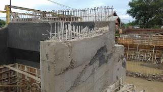 <b>Pekerjaan Tiang Pancang Jembatan Cenggu Disorot Aktivis PRD</b>