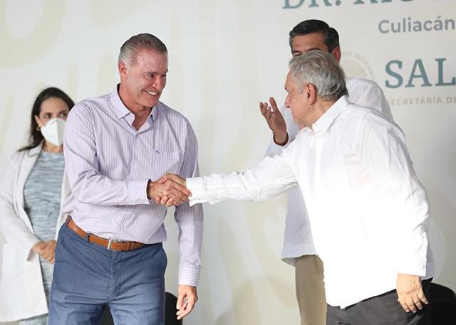 Quirino Ordaz al gabinete: AMLO en Sinaloa, sin precisar el cargo para el priista