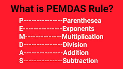 What is PEMDAS rule