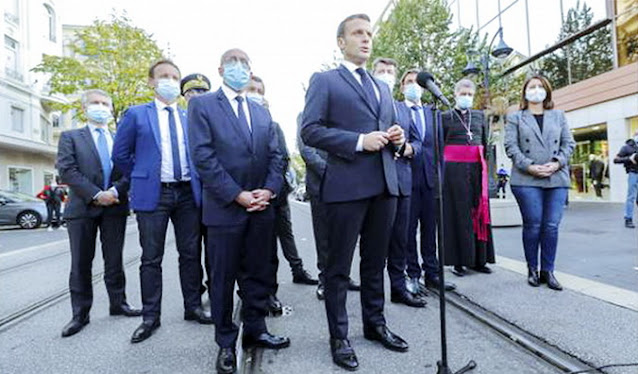Ngotot Tak Merasa Bersalah, Macron: itu Tugas Kami Lindungi Kebebasan dan Hak