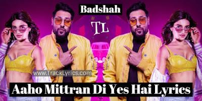 aaho-mittran-di-yes-hai-lyrics