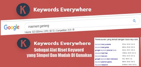 Cara Pasang Tols Keywords Everywhere Untuk Riset Kata Kunci