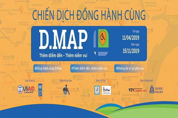 Giới thiệu D.Map cho cộng đồng người khuyết tật
