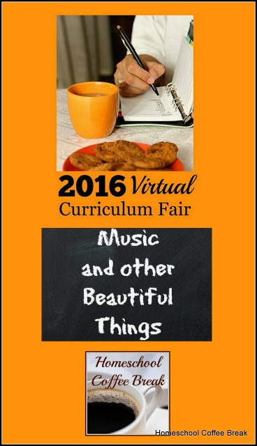 Music and other Beautiful Things (Virtual Curriculum Fair 2016) on Homeschool Coffee Break @ kympossibleblog.blogspot.com