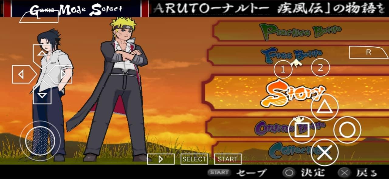 Naruto Ultimate Ninja Accel 3 Mod PPSSPP