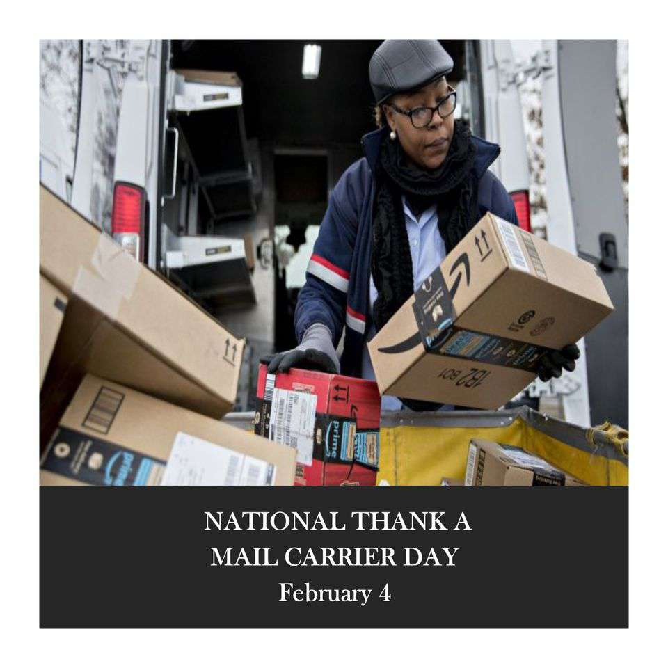 National Thank a Mail Carrier Day Wishes Lovely Pics