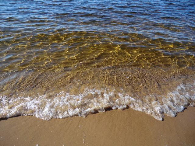 Summer waves on Lake Superior